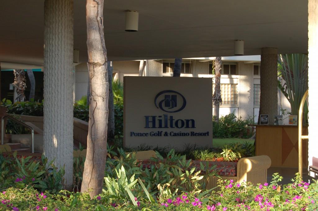 Ponce Hilton Entrance