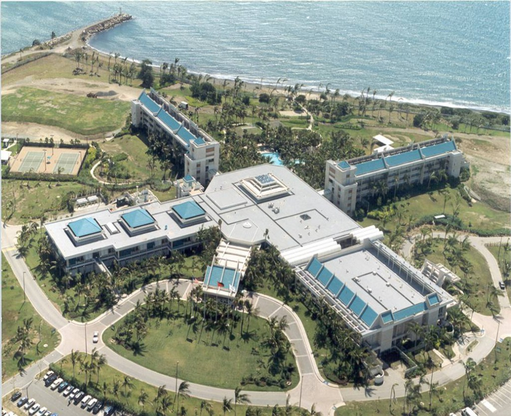 Ponce Hilton Aerial View